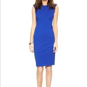 Bailey 44 Defense Mechanism Midi Dress in Blue L
